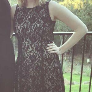 Liz Claiborne Black Lace Dress